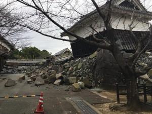 熊本城被災状況